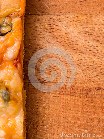 Pizza food background