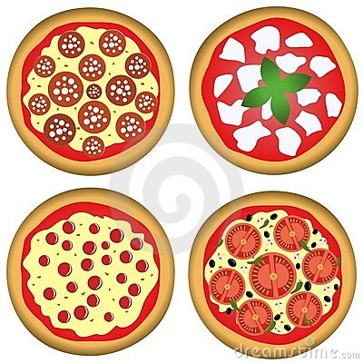 Pizza for four