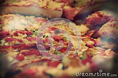 Pizza från Barcelona