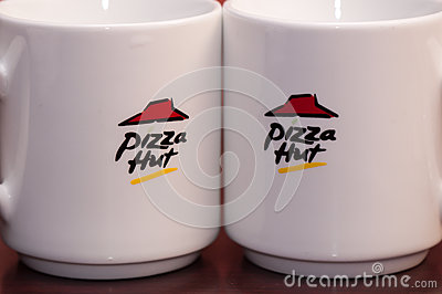 Pizza hut logo Editorial Photography
