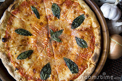 Pizza and ingredient