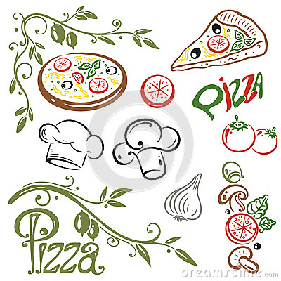 Free Pizza, Italian Food Royalty Free Stock Images - 34386169