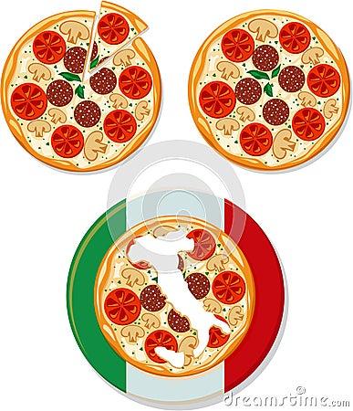 Free Pizza Italiano Royalty Free Stock Image - 17846346