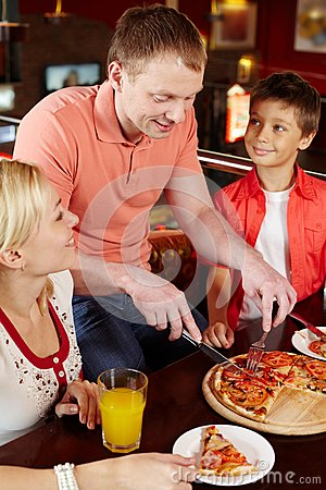Free Pizza Lovers Stock Photography - 28706952