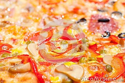 Pizza, macro