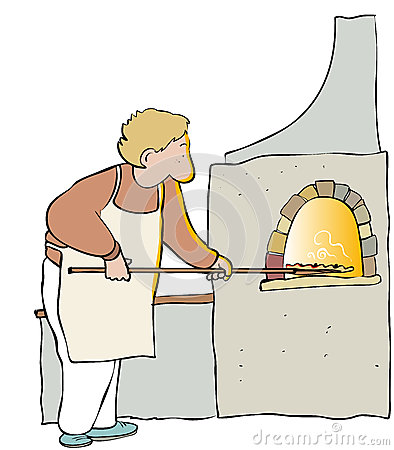 Free Pizza Maker Royalty Free Stock Images - 43044839