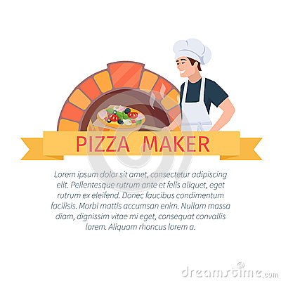 Free Pizza Maker Label Stock Images - 70527044