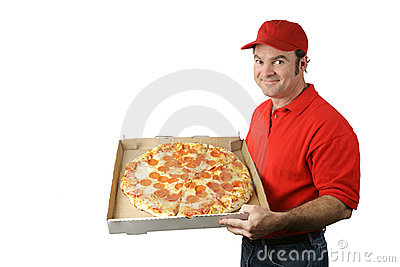 Pizza Man Delivers
