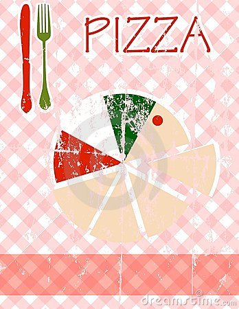 Pizza Menu Stock Image - Image: 23428751