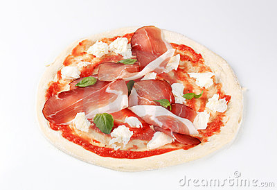 Pizza recipe - proscuitto
