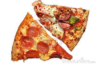 Pizza Slices (with clipping path)