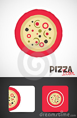 Pizza template design
