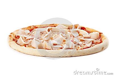 Pizza whth squidson