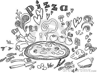 Pizzaingredienser