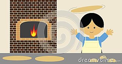 Pizzy podrzucanie