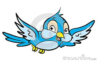 Pájaro de la historieta