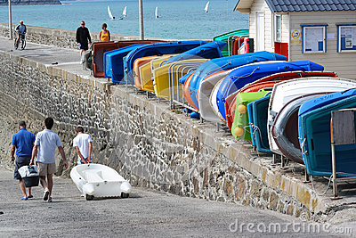 Pléneuf-Val-André Editorial Stock Photo