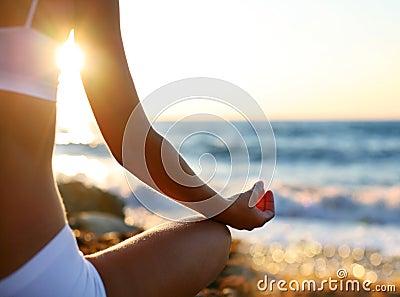 Plażowa medytacja