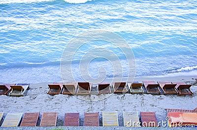 Plażowi krzesła