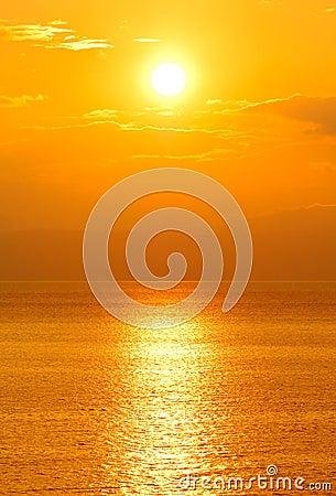 Plaatsende zon