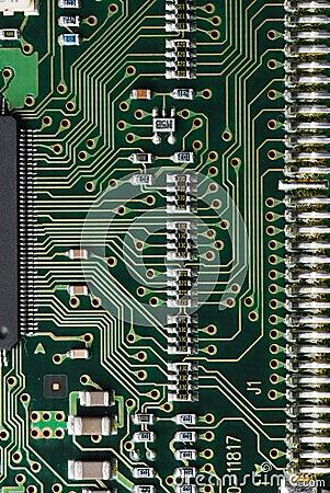 Placa de circuito 2 do computador