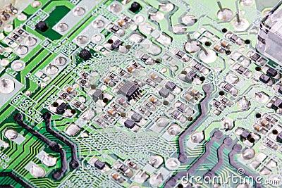 Placa Eletrônica. Imagem de Stock - Imagem: 23717431