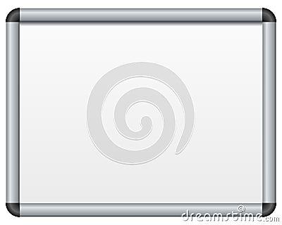Placa magnética em branco