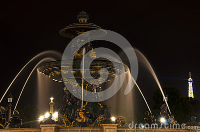 Place de la concorde, Paris Editorial Photography