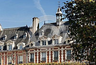 Place des Vosges, Paris - building