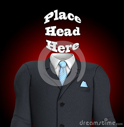 Place Head Here