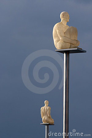 Place Massena - Nice France: the new lamps