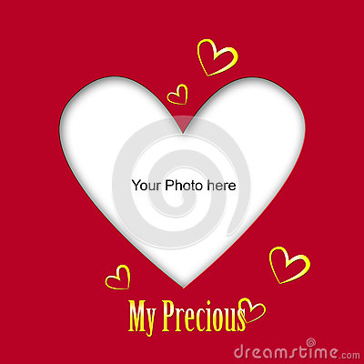 Place the photo of your love