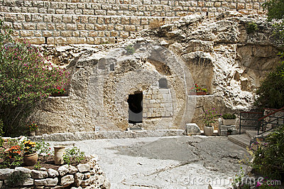 Place of the resurrection of Jesus Christ