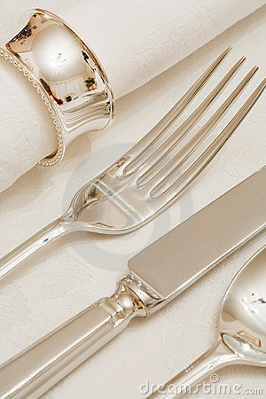 Free Place Setting Royalty Free Stock Photos - 12363758