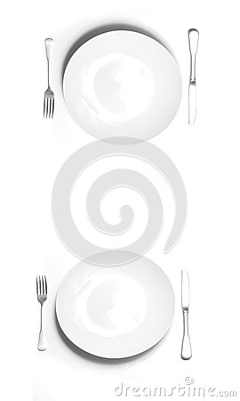 Place Setting for Two