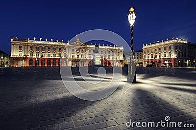 Place Stanislas, Nancy, France at dawn