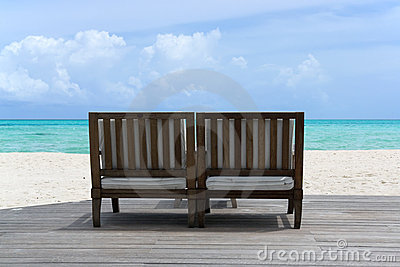 Place to relax on the beach