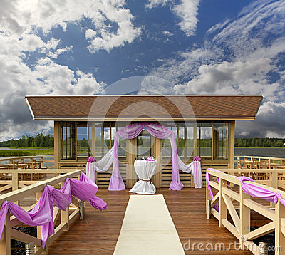 Place for wedding