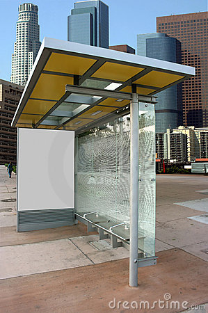 Place your ad on bus stop