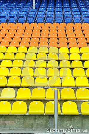 Places for fans.