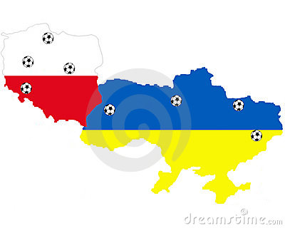 Places of UEFA 2012