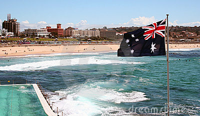 Plage de Bondi, Australie