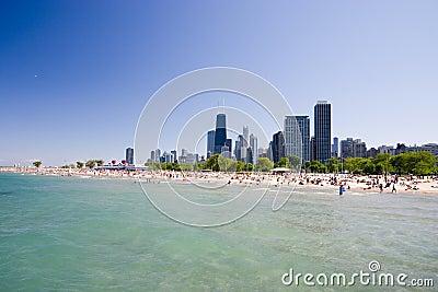 Plage de Chicago