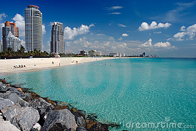 Plage Miami du sud