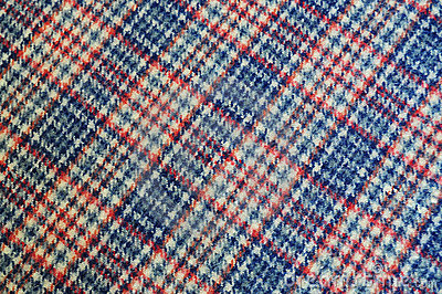 Plaid cloth