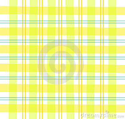 Plaid giallo del percalle