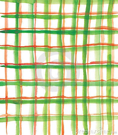 Plaid green and red pattern