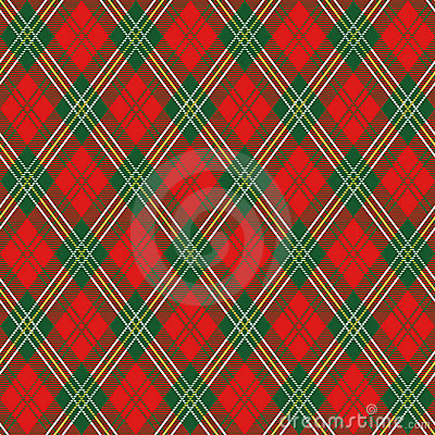 Plaid rouge