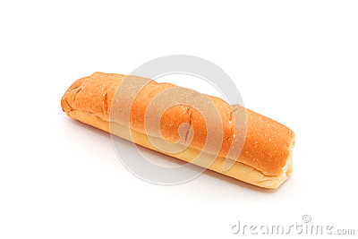 Plain Hotdog Bun Stock Photo - Image: 41936416