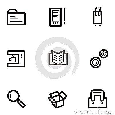 Plain Icon Series - Business